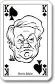 """Boris Jelzin"", Polit Poker, ASS, 1993"