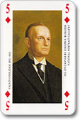 """Presidentical Pl. Cards"", F.X.Schmid, 1989"