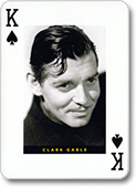 """Clark Gable&quot, Hollywood;, Piatnik, 1997"